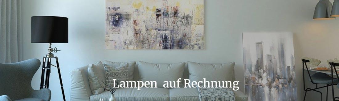 lampen auf rechnung aktuelle bersicht der shops. Black Bedroom Furniture Sets. Home Design Ideas