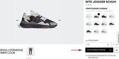 adidas auf rechnung bestellen 100 rechnungskauf. Black Bedroom Furniture Sets. Home Design Ideas